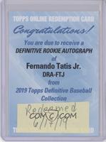 Fernando Tatis Jr. [BeingRedeemed]