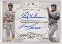 Rickey Henderson, Jose Canseco /35