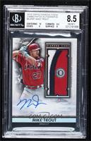 Mike Trout [BGS 8.5 NM‑MT+] #/25