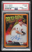 Mike Trout [PSA 9 MINT] #/25