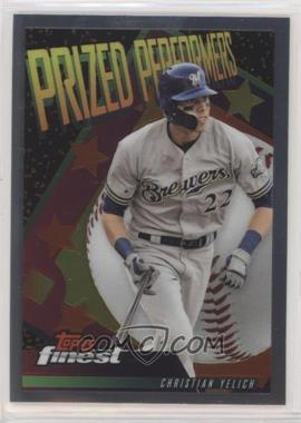 2019 Topps Finest - Prized Performers #PPCY - Christian Yelich
