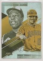 Mike Trout, Hank Aaron