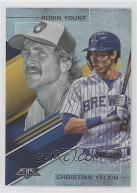 2019 Topps Fire - Lasting Legacies #LL-8 - Robin Yount, Christian Yelich