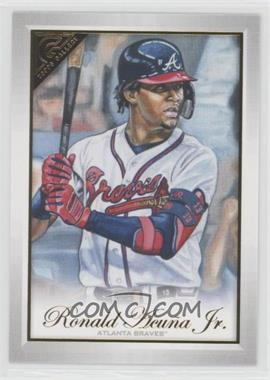 2019 Topps Gallery - [Base] #78 - Ronald Acuña Jr.