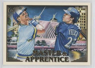 2019 Topps Gallery - Master and Apprentice #MA-YY - Robin Yount, Christian Yelich