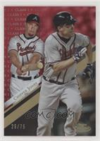Chipper Jones #/75