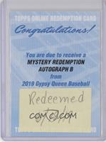 Mystery Autographed Redemption Player B [BeingRedeemed]