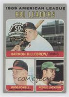 Boog Powell, Reggie Jackson, Harmon Killebrew [Good to VG‑EX]