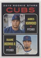 Rookie Stars - Duane Underwood Jr., James Norwood /50