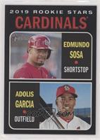 Rookie Stars - Edmundo Sosa, Adolis Garcia #/50