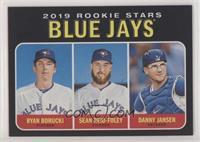 Rookie Stars - Ryan Borucki, Danny Jansen, Sean Reid-Foley /50