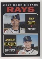 Rookie Stars - Andrew Velazquez, Nick Ciuffo #/50