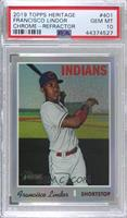 Francisco Lindor [PSA 10 GEM MT] #/570