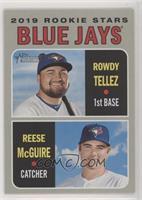 Rookie Stars - Rowdy Tellez, Reese McGuire