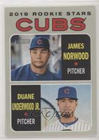 Rookie Stars - Duane Underwood Jr., James Norwood
