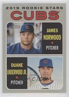 Rookie Stars - Duane Underwood Jr., James Norwood