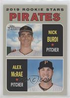 Rookie Stars - Nick Burdi, Alex McRae