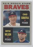 Rookie Stars - Chad Sobotka, Bryse Wilson [EX to NM]
