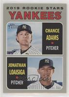 Rookie Stars - Chance Adams, Jonathan Loaisiga