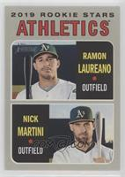 Rookie Stars - Nick Martini, Ramon Laureano