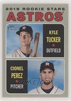 Rookie Stars - Kyle Tucker, Cionel Perez
