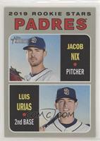 Rookie Stars - Jacob Nix, Luis Urias