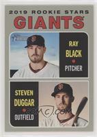 Rookie Stars - Steven Duggar, Ray Black