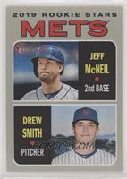 Rookie Stars - Jeff McNeil, Drew Smith