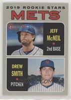 Rookie Stars - Jeff McNeil, Drew Smith