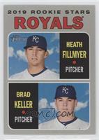Rookie Stars - Heath Fillmyer, Brad Keller