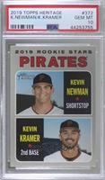 Rookie Stars - Kevin Newman, Kevin Kramer [PSA10GEMMT]
