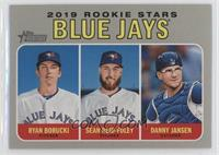 Rookie Stars - Ryan Borucki, Danny Jansen, Sean Reid-Foley
