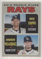 Rookie Stars - Andrew Velazquez, Nick Ciuffo
