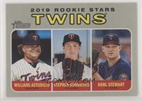 Rookie Stars - Kohl Stewart, Willians Astudillo, Stephen Gonsalves