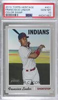 Short Print - Francisco Lindor (Team Name Color Variation) [PSA 10 GE…