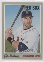 Short Print - J.D. Martinez (White Jersey, Portrait)