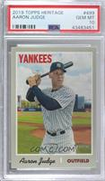 Short Print - Aaron Judge (Pinstriped Jersey, Portrait) [PSA 10 GEM&n…