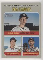 League Leaders - Justin Verlander, Trevor Bauer, Blake Snell