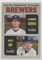 Rookie Stars - Nate Orf, Corbin Burnes
