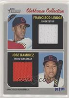 Jose Ramirez, Francisco Lindor #/70