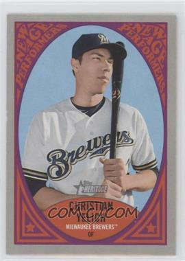 2019 Topps Heritage - New Age Performers #NAP-24 - Christian Yelich