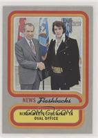 President Nixon meets with Elvis Presley