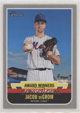 2019 Topps Heritage High Number - Award Winners #AW-4 - Jacob deGrom