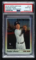 Keston Hiura [PSA 10 GEM MT] #/569