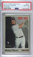 Michael Chavis [PSA 10 GEM MT] #/999