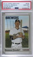 Team Color Variation - Yasmani Grandal [PSA 10 GEM MT]