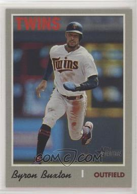 2019 Topps Heritage High Number - [Base] #539.2 - Action Variation - Byron Buxton