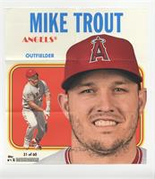 Mike Trout [Good to VG‑EX] #/70
