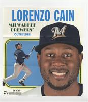Lorenzo Cain #/70