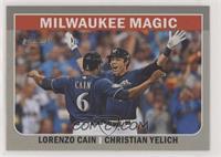 Christian Yelich, Lorenzo Cain
